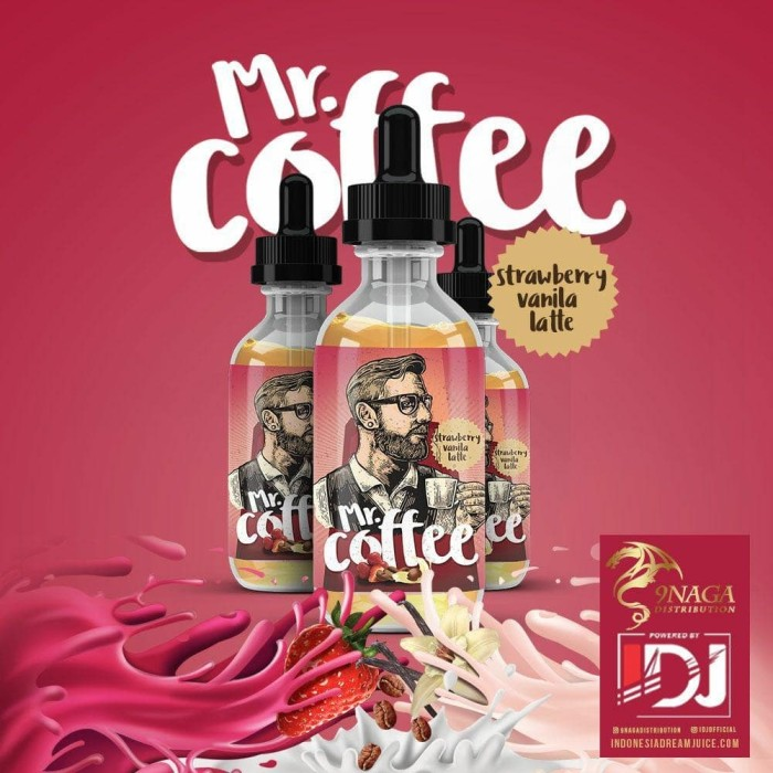 Jual MR Coffee Strawberry Vanilla Latte