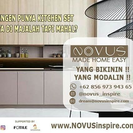 Jual Kitchen Set Mewah Tanpa Dp Pembayaran Ringan Kota Depok Novus Inspire Tokopedia