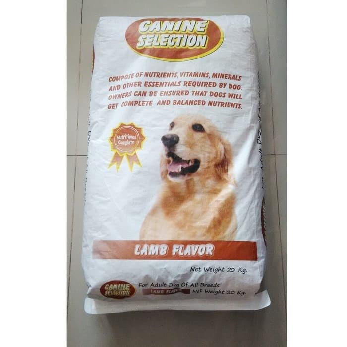 Foto Produk Canine Selection - Anjing LAMB FLAVOR 20kg ( GOJEK ) dari Barbie Pet shop