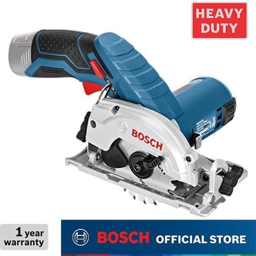 Foto Produk Bosch Gergaji Sirkel Baterai 12Volt GKS 12 V-Li (Unit Only) dari Bosch Power Tools