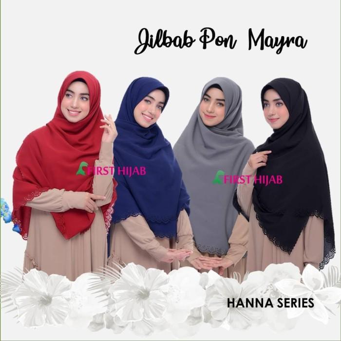 Jual Jilbab Pon Jipon Premium Wolfis Mayra Hanna Series M Kota Tangerang Selatan Chee Hijab Collection Tokopedia