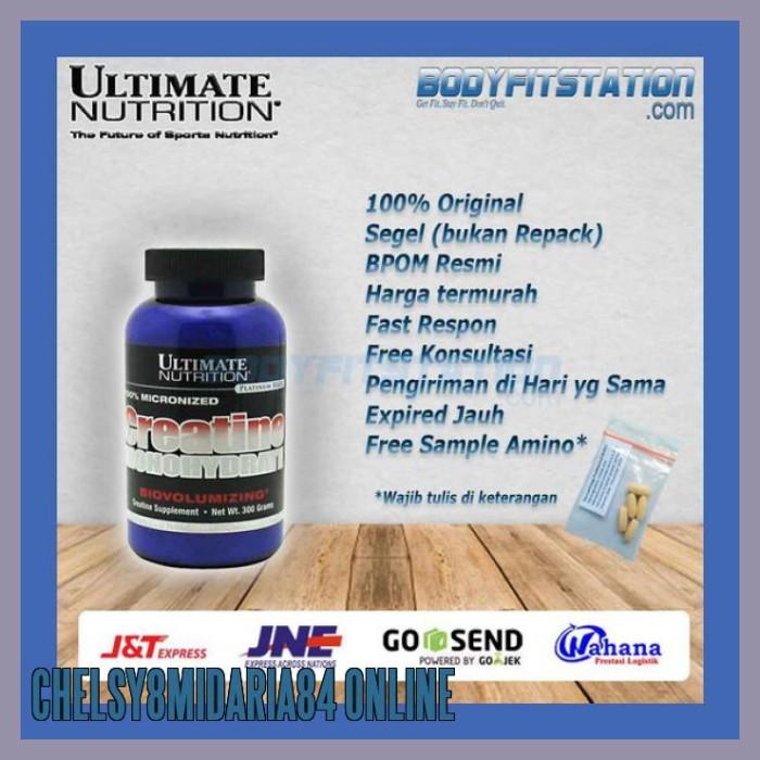 Jual Murah Ultimate Nutrition Creatine Monohydrate 300 Grams Bubuk G Gr Jakarta Utara Chelsy8midaria84 Online Tokopedia