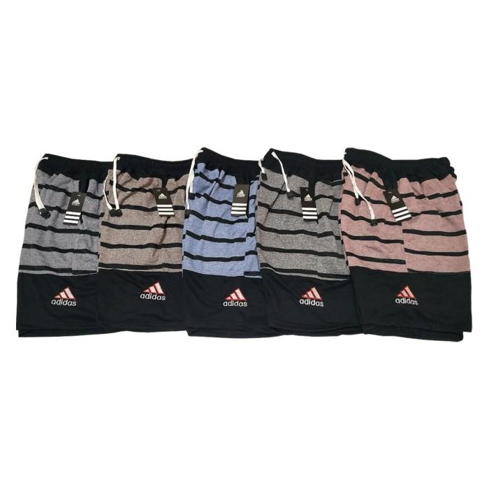 Foto Produk Celana pendek motif 2tone Adidas BAHAN ADEM / LEMBUT / 5 WARNA dari 8nine