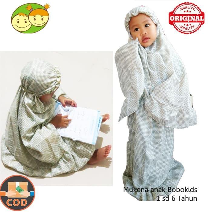 Foto Produk Mukena Anak Bobokids Adem dan Nyaman - Mukena Bayi Shabby 1 sd 6 Tahun dari BABY AY SHOP