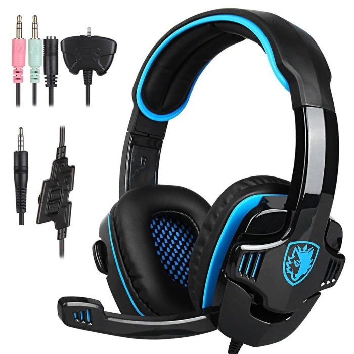 Foto Produk Headset Gaming Sades Gpower SA-708 dari Terabit Komputer
