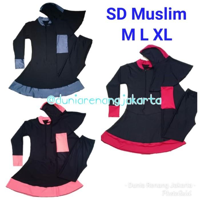 Jual Baju Renang Anak Perempuan Cewek SD Muslim