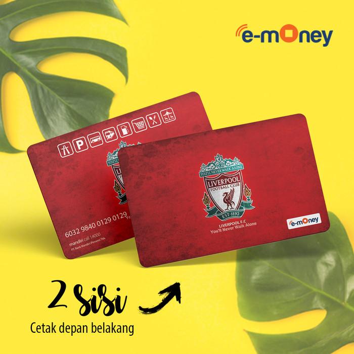 Jual Custom Kartu E Toll Mandiri 2 sisi Bisa Cetak Foto ...