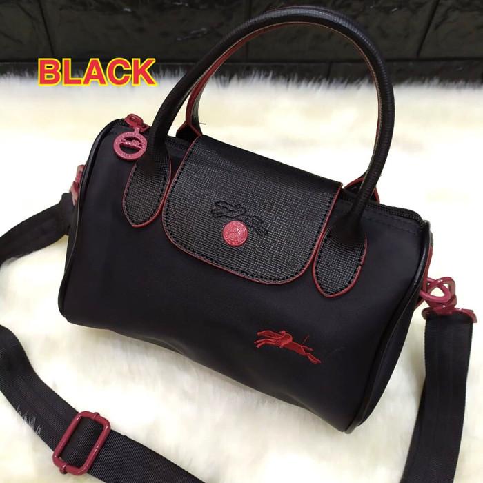 Foto Produk Tas wanita cewek import murah selempang slingbag SPEEDY LCM - Hitam dari sopaybags