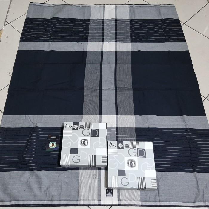 Foto Produk SARUNG TENUN GAJAH DUDUK BLACK WHITE/catton premium dari ROFI ONLYSHOOP