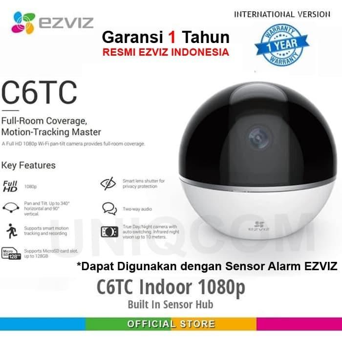 Foto Produk EZVIZ C6T CS-CV248 IP Cam CCTV Wifi HD 2MP 1080P NightVision dari Uniq Computer