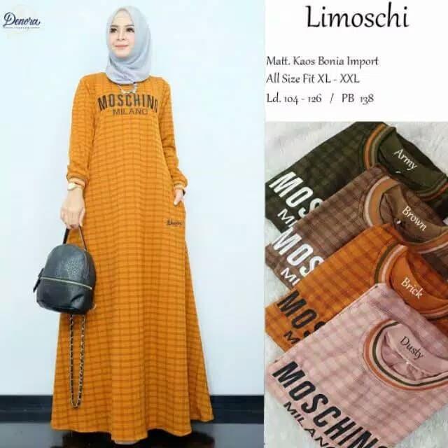 Jual Maxi Dress Gamis Jumbo Bahan Kaos Import Fit Xl Xxl Ld 104 126 Dusty Kab Bekasi Fashion Glamour18 Tokopedia