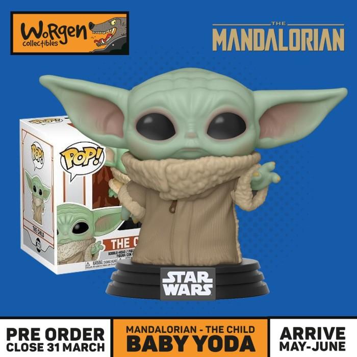 Foto Produk Funko Pop Baby Yoda - The Child Mandalorian dari worgen.id