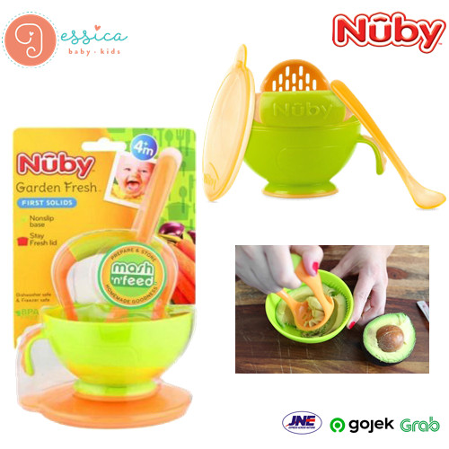 Jual Nuby Garden Fresh Mash N Feed Kota Cirebon Jessica Baby Kids Shop Tokopedia