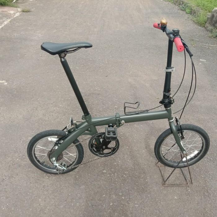 Jual sepeda lipat bekas - Kota Banjar - naufaldannaura