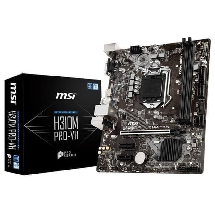 Foto Produk MSI H310M Pro VH - LGA1151 H310 DDR4 USB3.1 SATA3 dari perfect comp