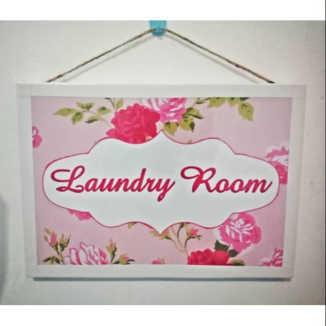 Jual Hiasan Dinding Wall Decor Laundry Room Bunga Pink Jakarta Timur Mulyagemilangasadel Tokopedia