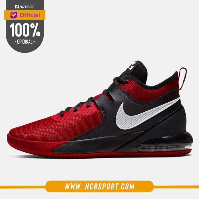 Foto Produk Sepatu Basket Nike Air Max Impact University Red Original CI1396-600 dari Ncr Sport