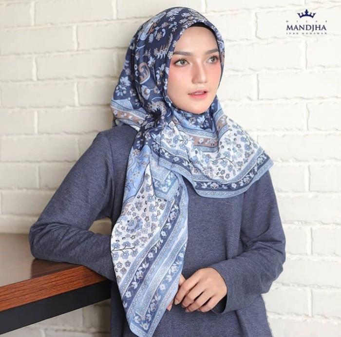 Foto Produk Hijab mandjha Ivan Gunawan Voal premium blue dari Oq_indoStore
