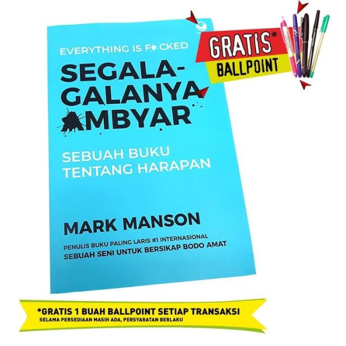 Jual Segala Galanya Ambyar Mark Manson Original Jakarta