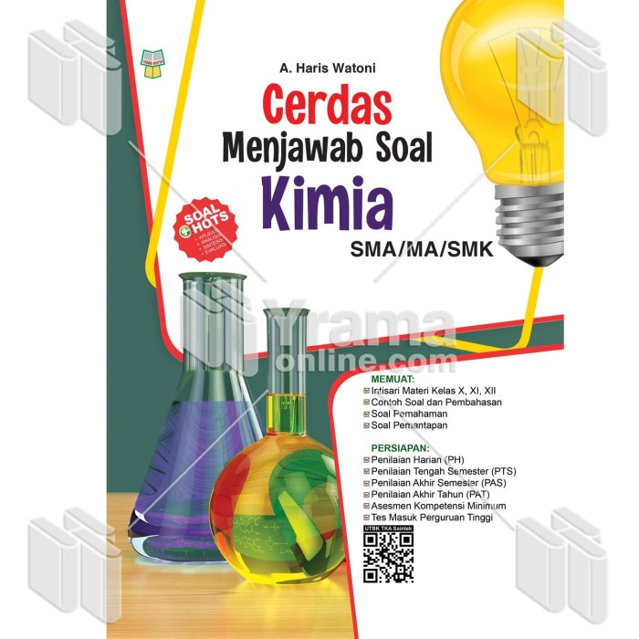 Foto Produk BUKU CERDAS MENJAWAB SOAL KIMIA SMA/MA/SMK dari Yrama Widya Online