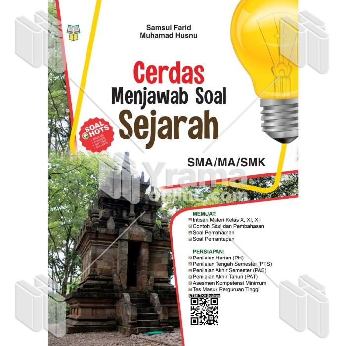 Foto Produk BUKU CERDAS MENJAWAB SOAL SEJARAH SMA/MA/SMK dari Yrama Widya Online