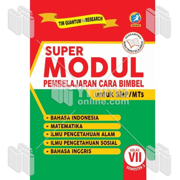 Foto Produk BUKU SUPER MODUL PEMBELAJARAN CARA BIMBEL SMP/MTs KELAS VII SEMESTER 2 dari Yrama Widya Online