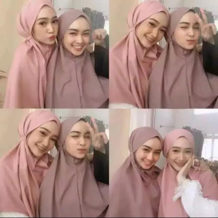 Jual Jilbab Bergo Maryam Non Pet Dusty Pink Kab Kulon Progo Azzea Tokopedia