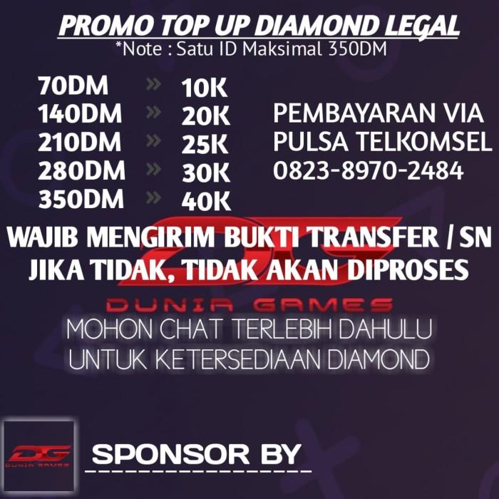 Jual Vocher Diamond Free Fire Kota Solok Hanvoucher Tokopedia
