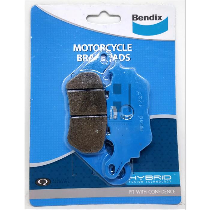 Foto Produk Kampas Rem Belakang Yamaha R25 & XMAX 250 - BENDIX Brake Pad MD48 dari Auto Home