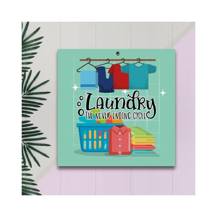 Jual Hiasan Dinding Interior Home Decor Laundry Mk008 Jakarta Barat All In Onecollection Tokopedia