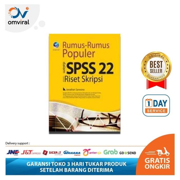 Jual Rumus Rumus Populer Dalam Spss 22 Untuk Riset Skripsi Kota Bekasi Omviral Online Shop Tokopedia