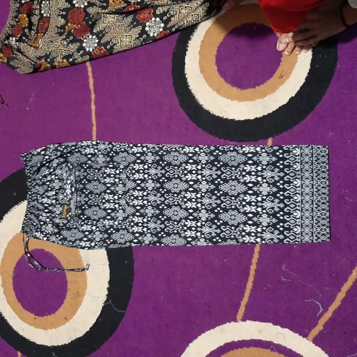 Foto Produk celana pangsi komprang batik dewasa - Hitam, M dari maedina colection