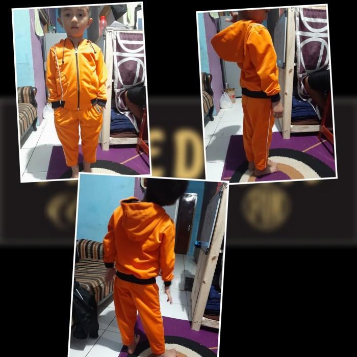 Foto Produk setelan jaket anak usia 1-6 tahun - 2-3 tahun, Hitam dari maedina colection