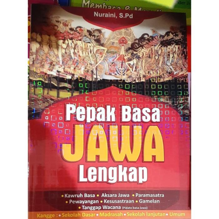 Jual Buku Bahasa Jawa Sd Pepak Basa Jawa Lengkap Buku Pepak Basa Jawa Kota Surakarta Pena Mandiri Tokopedia