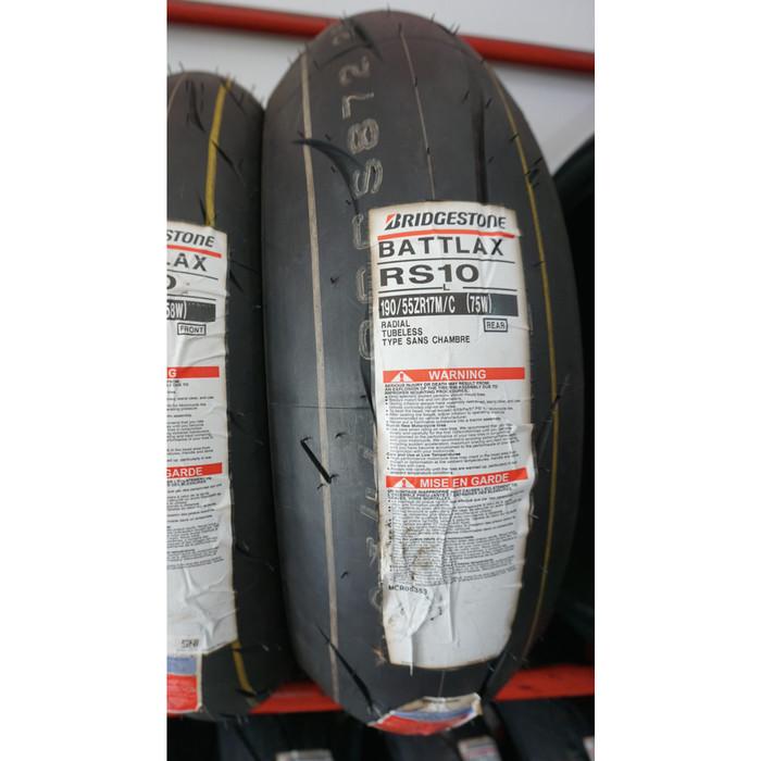 Jual Ban Bridgestone Battlax Racing Street Rs10 190 55 Zr17 R Kota Bekasi Tire Expert Tokopedia