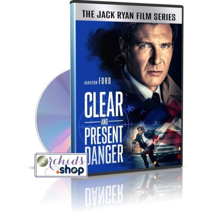 Jual Dvd Hollywood Clear And Present Danger 1994 Kualitas Hd Film Barat Kota Medan Orcidshop Tokopedia