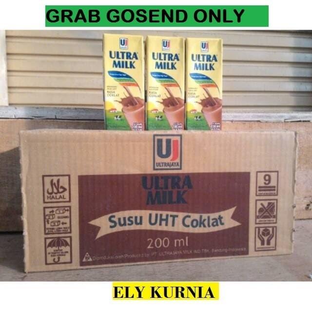 Foto Produk Susu UHT Ultra Rasa Coklat 200 ML 1 Karton dari Ely Kurnia