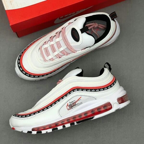 Jual Nike Air Max 97 Sketch White Red Black Jakarta Selatan