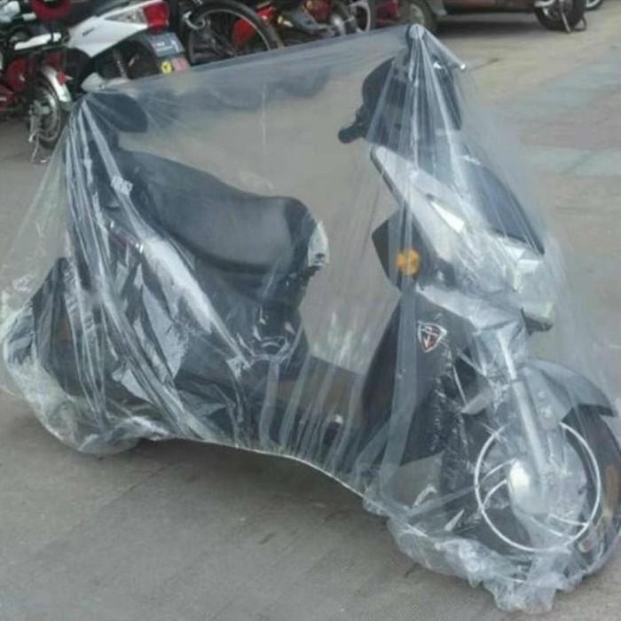Jual Plastik Selimut Sarung Cover Motor Transparan Anti Air Dan ...