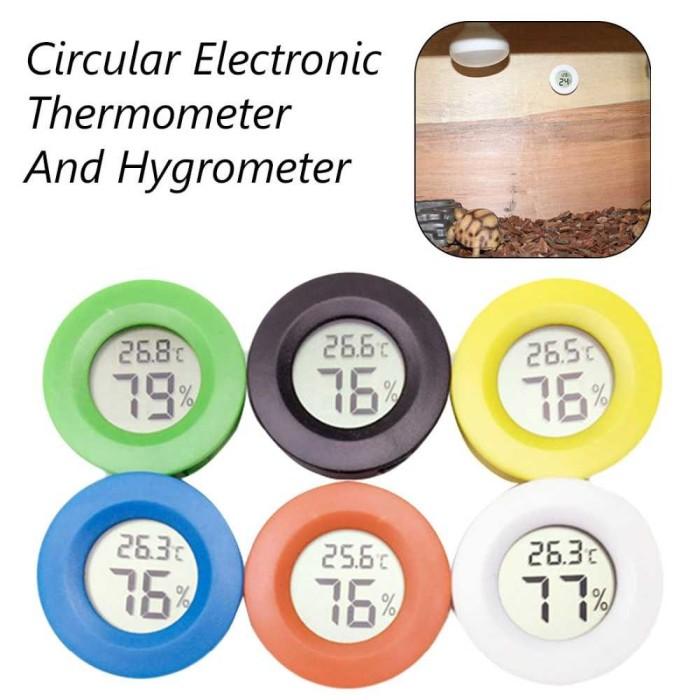 Foto Produk Digital Thermometer Hygrometer Temperature Humidity Monitor - C1056-01 dari Karwex Motovlog