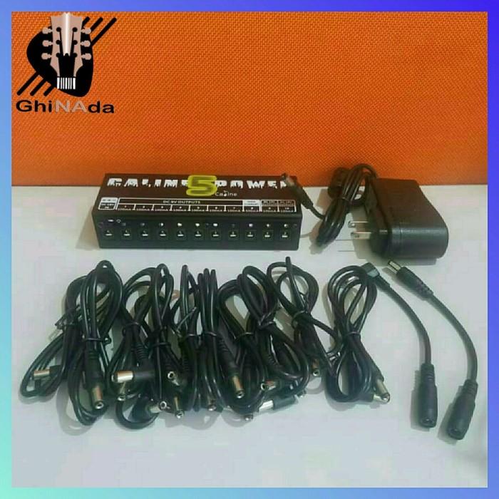 Foto Produk CALINE CP-05 Power Supply Efek Pedal Daya Listrik 9V 12V 18V 10 O dari okkistore2020