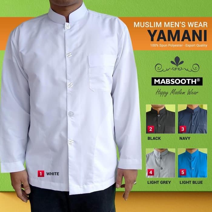Jual Koko Pria New Model Baju Koko Lengan Panjang Polos Kemeja Pria Jakarta Selatan Nabilasaptono Tokopedia