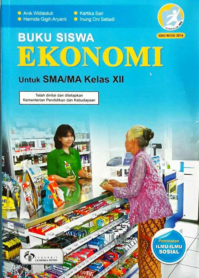 Foto Produk Buku, SMA/MA Kelas 12 Buku Siswa Ekonomi 3 SMA Kurikulum 2013 -Ori dari Pusat Buku Original