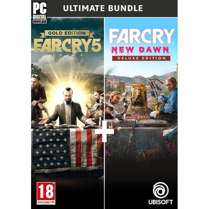 Jual Far Cry 5 Gold Far Cry New Dawn Deluxe Pc Steam Original Game Kota Balikpapan Cryptoindo Tokopedia