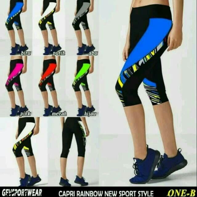 Jual Celana Legging Olahraga Fitnes Senam Zumba Vb Gevsportwear 7 8 Kab Cirebon Creab Shop Tokopedia