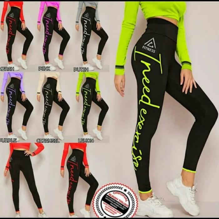 Jual Celana Legging Olahraga Fitness Senam Zumba Vb One B Original Kab Cirebon Creab Shop Tokopedia