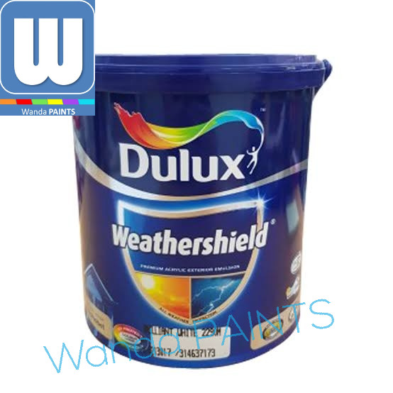 Jual CAT TEMBOK DULUX WEATHERSHIELD 2 5 LITER WARNA
