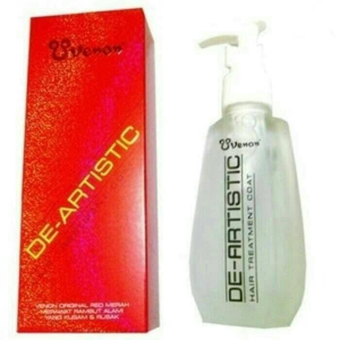 Foto Produk Venon Merah De-Artistic Hair Treatment Coat - Vitamin Rambut dari grosirshop99