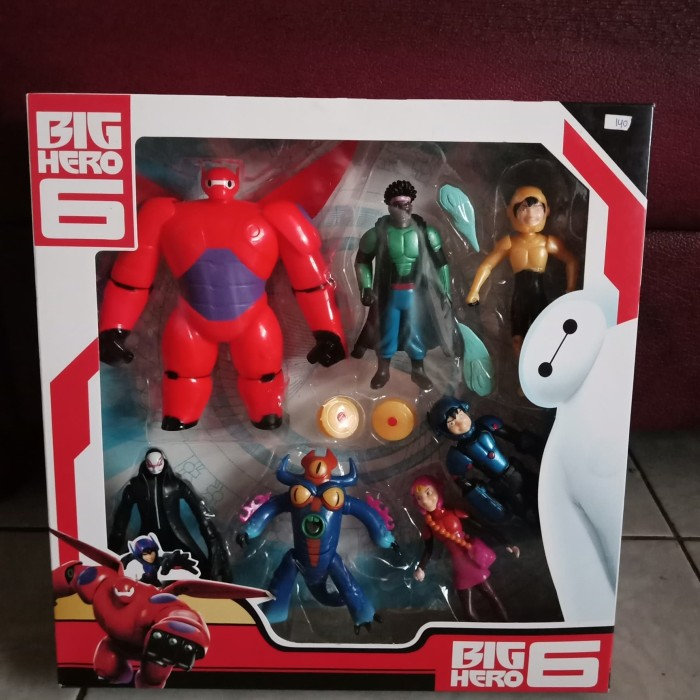 Jual Miniatur Big Hero 6 Isi 7pcs Jakarta Timur Mainan Anak Mabiz Tokopedia
