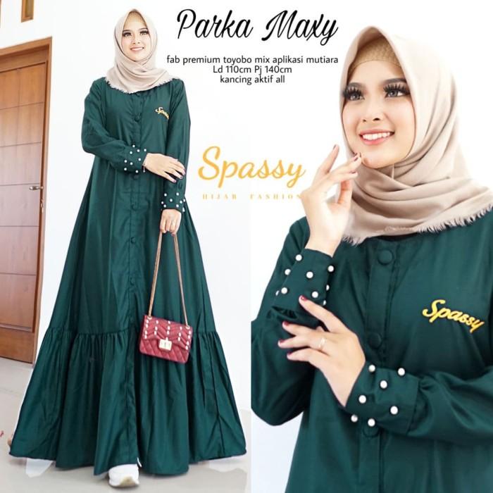 Foto Produk Gamis Dress murah Terbaru Baju Gamis syari Modis Baju Gamis Parka Maxy dari REXITO Celana Pria